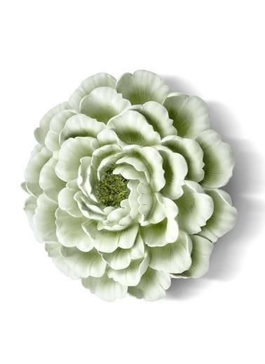 The Mia Duvar Dekoru Çiçek - 30 Cm Yeşil Yeşil